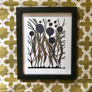 Other - New! 8x10 Nordic/Scandinavian framed art print